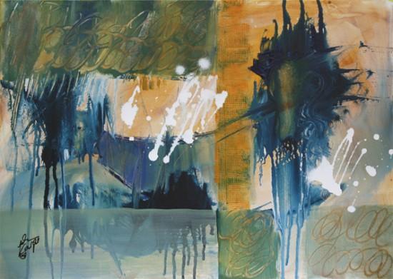 """animal"" Acryl - 2015 - 50cm x 70cm"